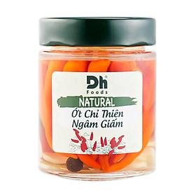 NATURAL Ớt Chỉ Thiên Ngâm Giấm 150g - Dh Foods