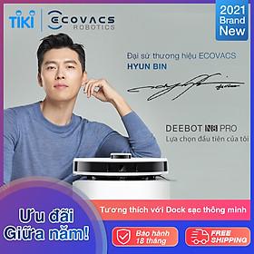 [NEW]Robot hút bụi lau nhà Ecovacs Deebot OZMO N8 Pro - Lực hút MAX 2600 Pa - Bản quốc tế - bảo hành 18 tháng.