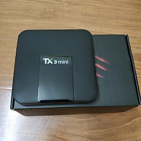 Đầu thu android tv box TX3 MINI ROM 16GB RAM 1GB XEM PHIM 4K