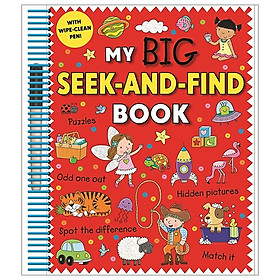 My Big Seek & Find Book (Wipe Clean)