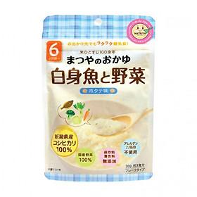 Hình đại diện sản phẩm Cháo Ăn Dặm Matsuya Thịt Trắng Và Rau Vị Sò Điệp