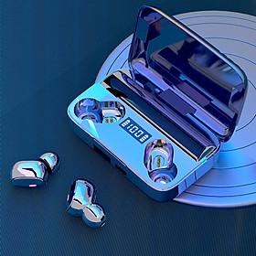 Tai nghe bluetooth A9 âm thanh trung thực, chống nhiễu tốt, đèn Led theo dõi mức pin dễ dàng cùng dung lượng pin khủng có thể sạc được cho điện thoại- Hàng nhập khẩu