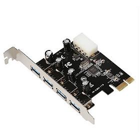 Card Mở Rộng 4 Cổng USB 3.0 Từ Khe PCI-E