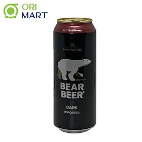 Bia Bear Beer Dark Imported 5.3%