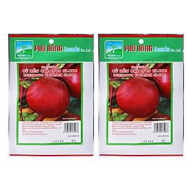 Bộ 2 Gói Hạt Giống Củ Dền Crimson Globe Phú Nông (5g / Gói)