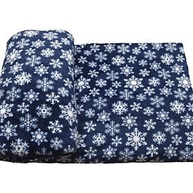 Mền lông cừu văn phòng, phòng ngủ 2.1 x 1.6 Xanh đen Bông Tuyết