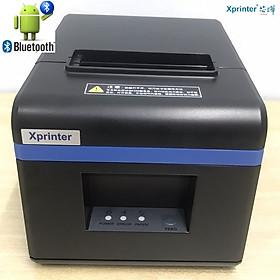 Máy in bill, hóa đơn nhiệt khổ 80mm K80 kết nối Bluetooth Xprinter XP-N160B( USB+Bluetooth) - Hàng chính hãng