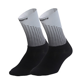 Men Women Cycling Socks Anti-Slip Wearproof Breathable Running Hiking Sports Outdoors Athletic Compression Socks