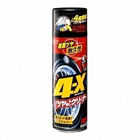 Chai Xịt Vệ Sinh Và Phủ Đen Bóng Lốp Xe Ô Tô 4X Tire Cleaner Soft99 L-14