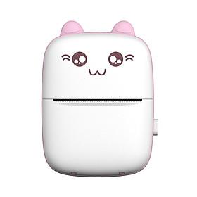 Máy in nhiệt mini bỏ túi cáp USB kèm giấy in nhiệt