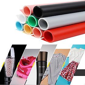 Phông nền nhựa PVC trơn kích thước 100x200cm treo khung chụp ảnh sản phẩm đủ màu sắc, dày, không nhìn xuyên thấu, chống nước, chống nhăn, dễ vệ sinh