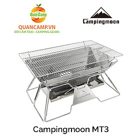 Bếp nướng dã ngoại inox cao cấp Campingmoon MT-03