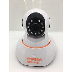 Camera IP WIFI trong nhà YooSee 3.0 New 2020 ( 3 anten Full HD 1080) + Thẻ nhớ 32G YooSee - Hàng Nhập Khẩu