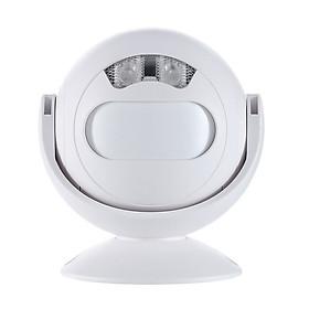 Chuông báo khách cảm biến chuyển động hồng ngoại có điều khiển từ xa 23R ( Tặng kèm nút kẹp cao su giữ dây điện cố định )