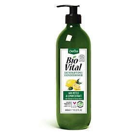 Dầu Xả Hữu Cơ Nhập Khẩu Dành Cho Tóc Dầu Thiếu Dưỡng Chất Deba Bio Vital Nettle & Lemon