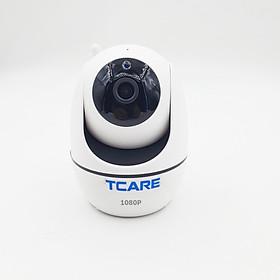 Camera wifi IP giám sát 360 độ không dây 2.0MPX 1080P Tcare P6S - Hàng chính hãng