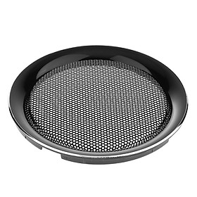 4 Inch Speaker Grills Cover Case for Speaker Mounting Home Audio DIY - 120mm Outer Diameter Black