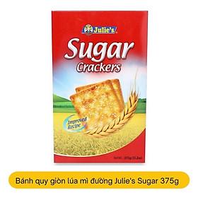 Biểu đồ lịch sử biến động giá bán Bánh quy giòn lúa mì phủ đường Julie's Sugar Crackers 375g