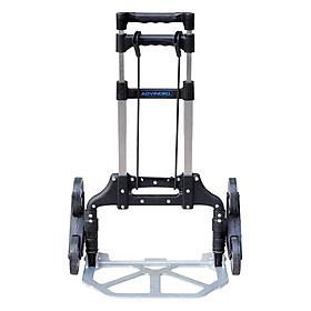 Xe Kéo Đẩy Leo Cầu Thang 6 Bánh Rút Gọn ADVINDEQ TL-35/70 (35kg) - Hàng Chính Hãng