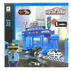 Bộ Đồ Chơi Mô Hình Trạm Cảnh Sát Và Xe Boy Toys 660-A80