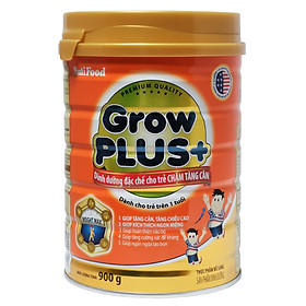 Sữa Bột Nutifood Grow Plus+ Cam (900g)