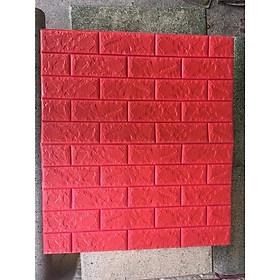 sét 50 tấm xốp dán tường giả gạch nhiều mầu loại đẹp