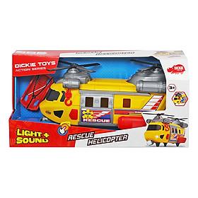 Đồ Chơi Trực Thăng Cứu Hộ Lớn Dickie Toys Rescue Helicopter (30 cm)