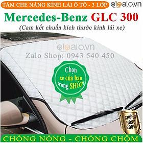 Tấm che chắn nắng kính lái ô tô Mercedes Benz GLC 300 CAO CẤP 3 Lớp Chắn Nắng Cản Nhiệt | OTOALO