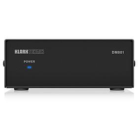 Klark Teknik DM801 - RS232 / Ethernet Interface for DM8000 Control-Hàng Chính Hãng