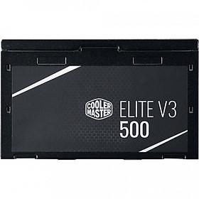 Nguồn Máy Tính Công Xuất Thực Cooler Master Elite V3 500W - Hàng Chính Hãng