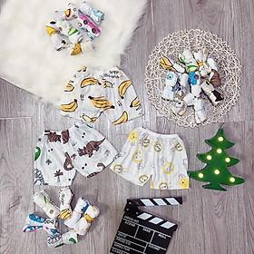 Quần đùi cotton giấy mẫu 2020 thông hơi cho bé yêu (set 10 quần)