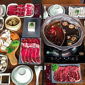 Buffet Lẩu Rakuen Hotpot Menu 319K
