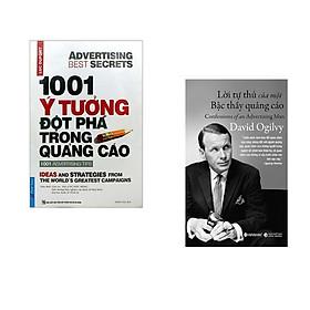 Combo 2 cuốn sách: 1001 ý Tưởng Đột Phá Trong Quảng Cáo + Lời Tự Thú Của Một Bậc Thầy Quảng Cáo