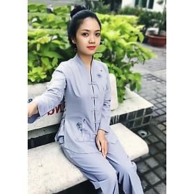 Áo Lam Đi Chùa - Bài Lai Tim Màu Lam Thêu