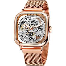FORSINING 291 Mechanical Men Watch 3ATM Waterproof Luxury Business Luminous Male Watch Skeleton Wristwatch for Men with