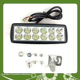Đèn trợ sáng C12 siêu sáng 3 chế độ Green Networks Group