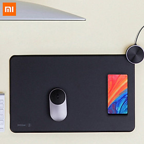 Xiaomi Ecological Chain MIIIW Smart Mouse Pad Qi Standard Support Mi Mix2S Wireless Charging Mousepad RGB Light Mouse Pad Knob Can Adjust Volume ABS Mouse Mat Gaming Pad