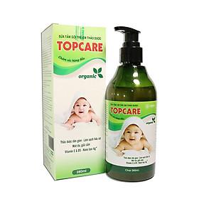 Sữa tắm gội thảo dược cho bé TOPCARE 280ml ngừa hăm và rôm sảy, mát da, giải cảm - 100% thảo dược thiên nhiên dùng cho mọi lứa tuổi
