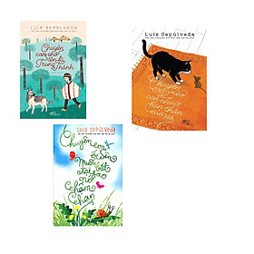 Combo 3 cuốn sách: Chuyện con chó tên là trung thành + Chuyện con mèo và con chuột bạn thân của nó  + Chuyện con ốc sên muốn biết tại sao nó chậm chạp