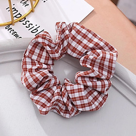 Cột Tóc Vải Scrunchies 6 Màu Cơ Bản SC01