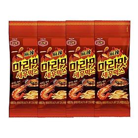 Hạnh nhân Hàn Quốc chính thống Murgerbon vị tôm cay (20g)X4