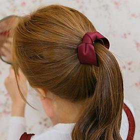 Bộ 2 kẹp tóc càng cua mẫu nơ phong cách Hàn Quốc, mẫu mới, giao màu ngẫu nhiên+ Tặng kèm hình dán ngộ nghĩnh