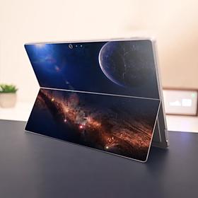 Skin dán hình không gian x07 cho Surface Go, Pro 2, Pro 3, Pro 4, Pro 5, Pro 6, Pro 7, Pro X
