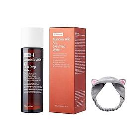 Dung Dịch Tẩy Tế Bào Chết By Wishtrend Mandelic Acid 5% Skin Prep Water 120ml + Tặng Kèm 1 Băng đô Tai Mèo Xinh Xắn (Màu Ngẫu Nhiên)