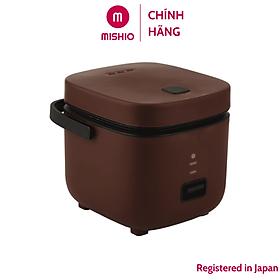 Nồi Cơm Điện Mini Mishio MK265 0.8 Lít - Hàng chính hãng