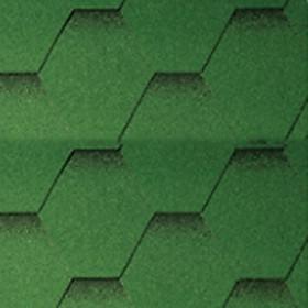 Ngói bitum tổ ong màu dark green