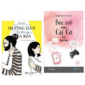 """Combo Sách Hay Giải Mã Về Tình Yêu : Hướng Dẫn """"Sử Dụng"""" Nửa Kia + Bóc Mẽ Những Cái Cớ Của Đàn Ông - (Tặng Kèm Bookmark Thiết Kế AHA)"""
