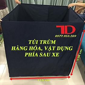 Túi trùm hàng hóa sau xe máy, Túi trùm chuyên dụng cho hàng hóa