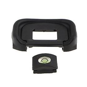 Camera Eyecup Viewfinder Eyepiece+Spirit Level for Canon EOS 1D Mark II/5D Mark IV - Used to Protect Your Camera from Dust or Other Dirts