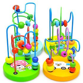 Bộ luồn hạt  mini đồ chơi giáo dục